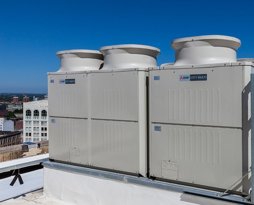 City Multi Vrf Heating And Cooling Systems Hedrick